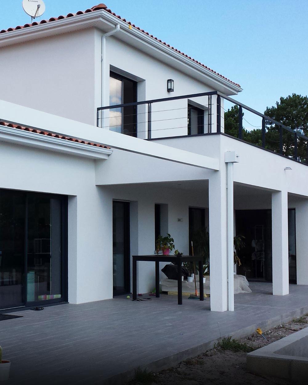 Maître d'œuvre à Bordeaux pour la construction de maison individuelles
